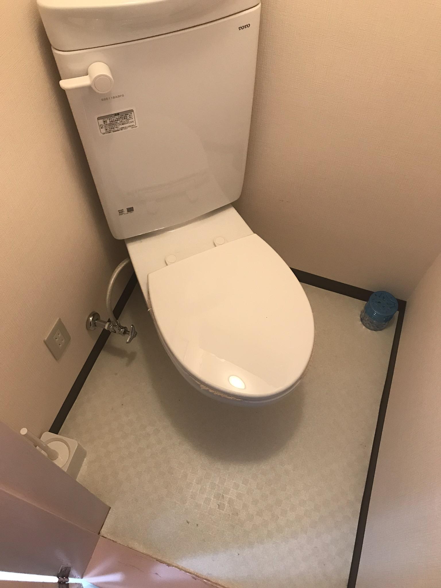 狭小トイレの和式→洋式工事