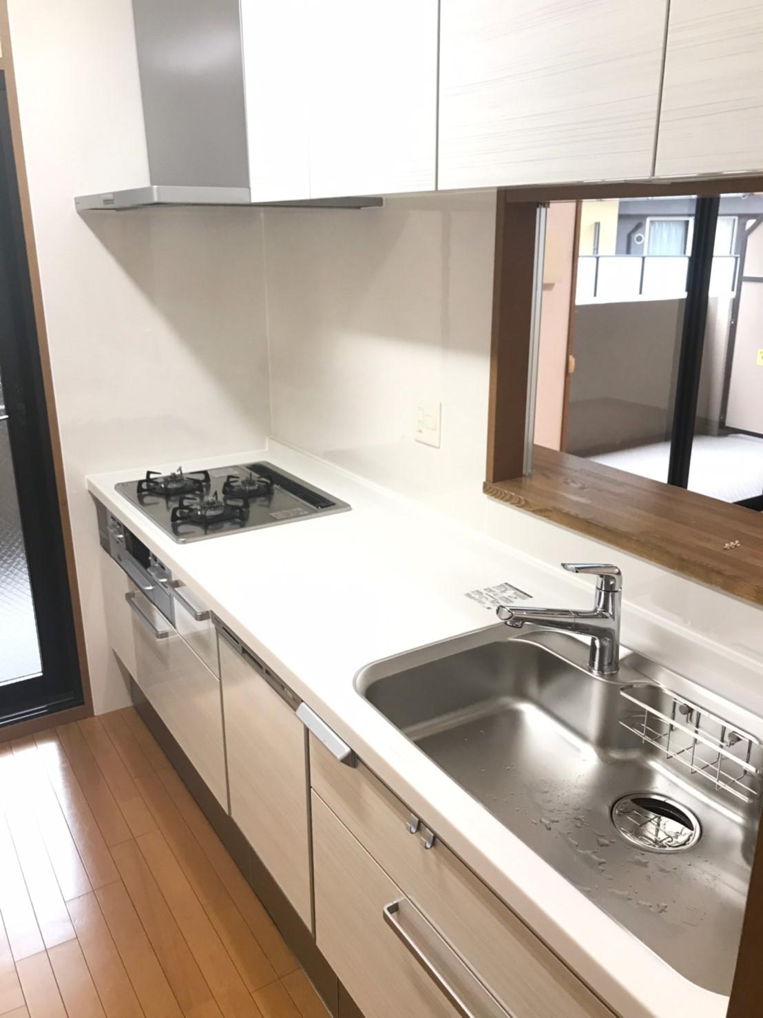 キッチン、お風呂、洗面化粧台リフォーム