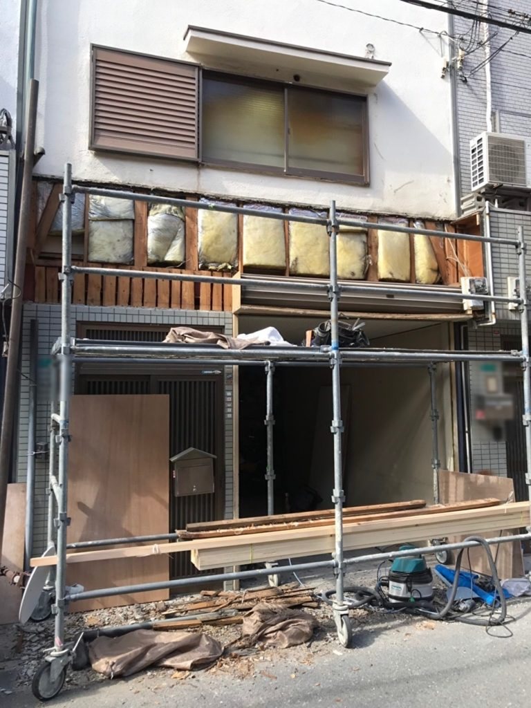 外壁、屋根の補修工事