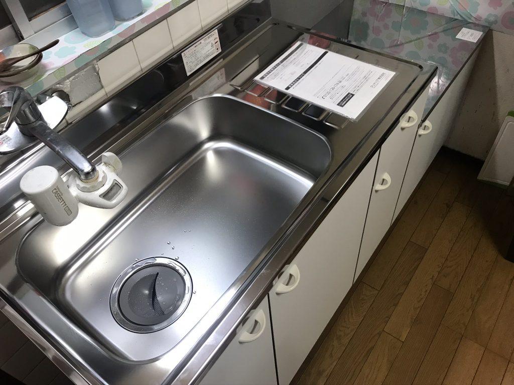 キッチン交換が工事費込で12万!? ミニキッチン交換