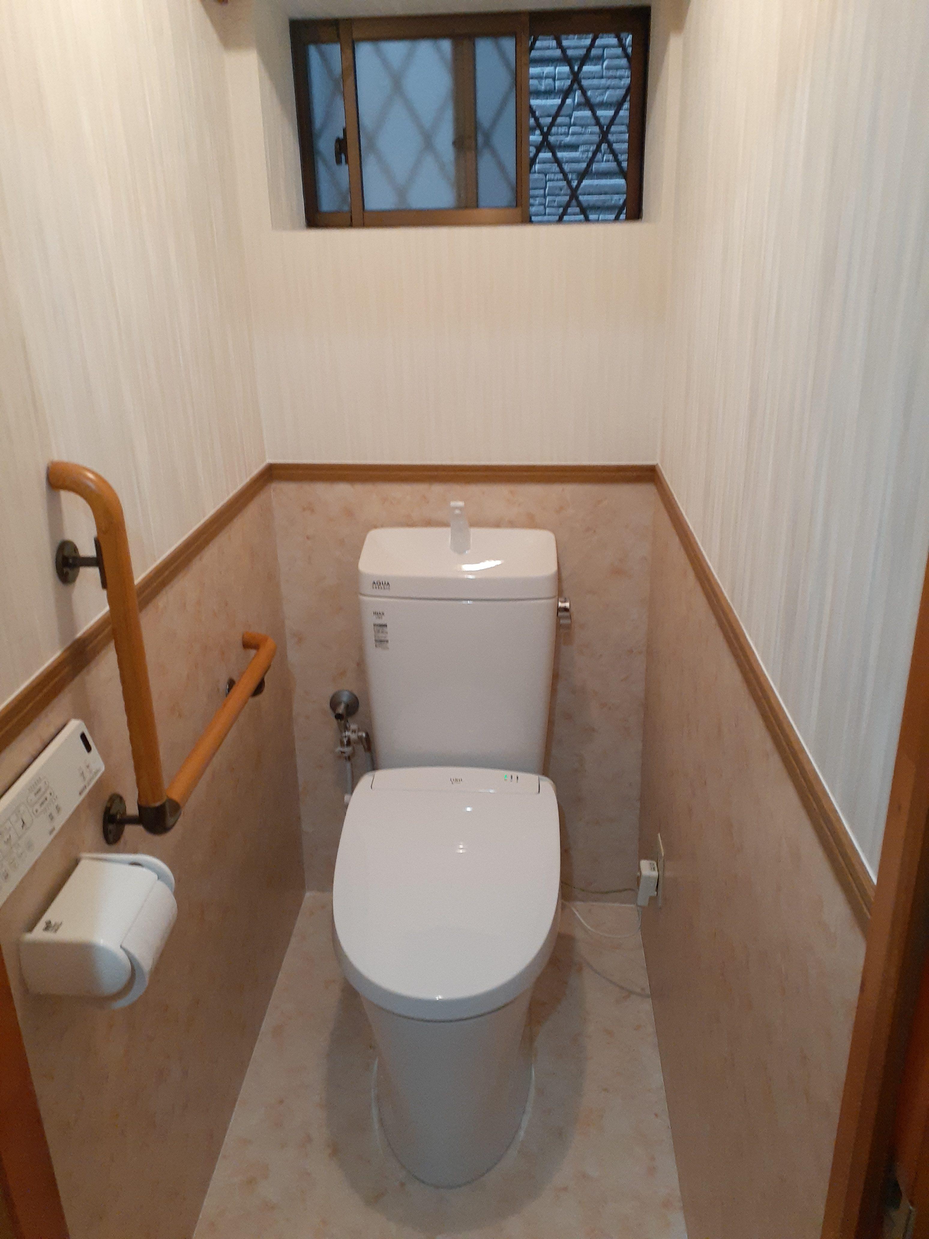 凹凸や隙間、段差の少ないトイレでお手入れラクラク♪