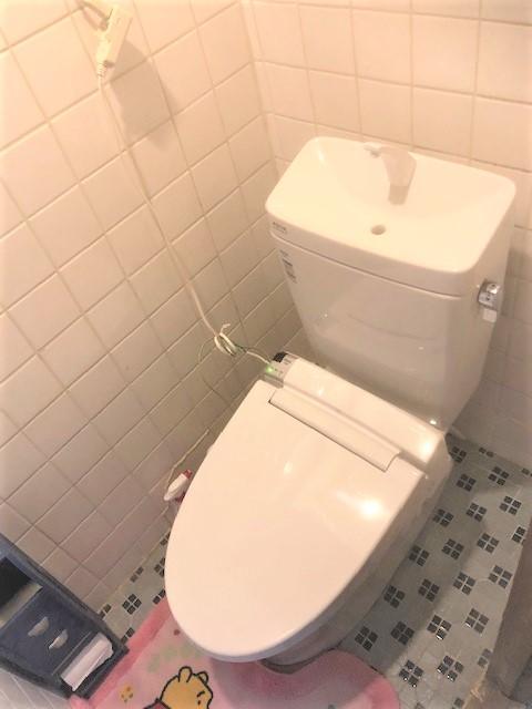 トイレ素取替工事